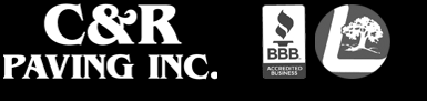 C & R Paving : Ajax, Whitby, Pickering, Oshawa, Scarborough, Toronto Commercial & Residential Paving, Concrete & Snow Removal Logo